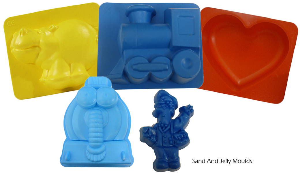 Sand and Jelly Moulds