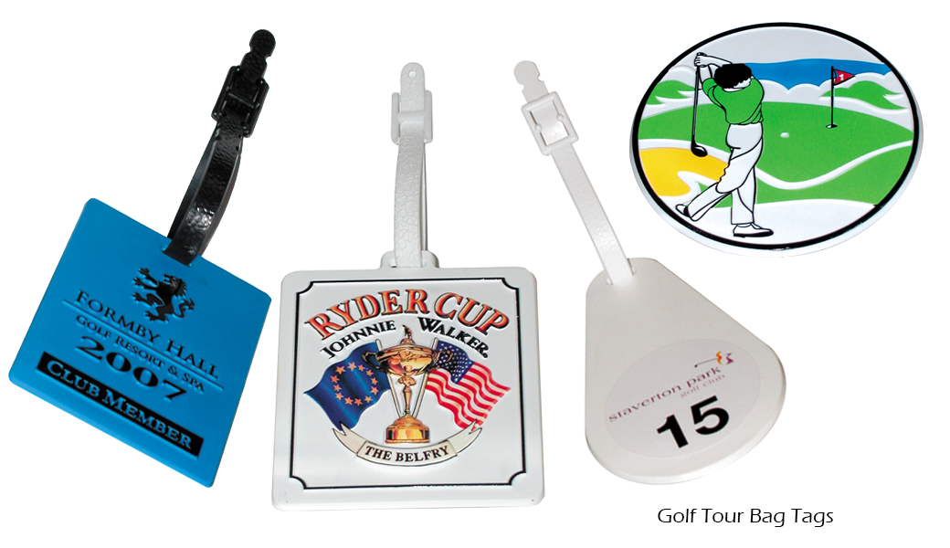 Golf Tour Bag Tags